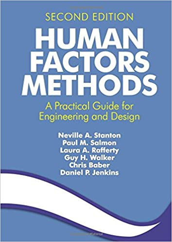 Book Human Factors Methods: A Practical Guide for Engineering and Design