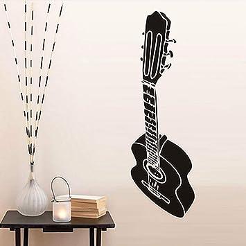 Guitarra pegatinas de pared calcomanía para niños sala de estar ...