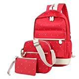 Best Bed  A Bag Sets   Students - Finance Plan Big Promotion Women Canvas Backpack Girl Review