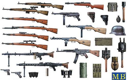 1/35 WW-II German small arms set (japan import)