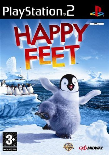 Happy Feet Ps2 - Happy Feet (PS2) by Midway Games Ltd