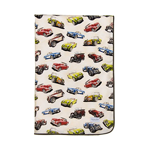 Jean Bedding Glenna Nursery - Glenna Jean Fast Track Quilt, Cars