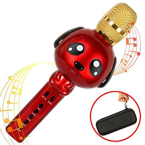 Sale!! Kids Karaoke Machine Microphone for Kids Karaoke Microphone Bluetooth Microphone Wireless Mic...