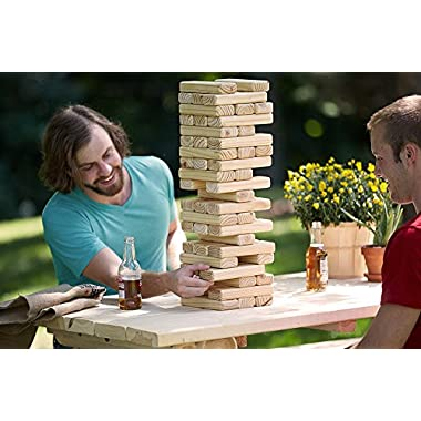 Belknap Hill Trading Post Towering Timbers Giant Stacking Game