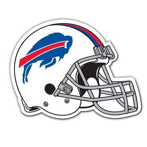 NFL Buffalo Bills Team Magnet, (Buffalo Bills Football Car Flag)