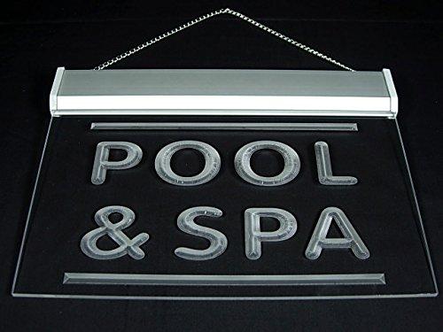 Pool & Spa Led Light Sign