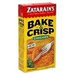 Zatarain's Bake & Crisp Chicken, 8-ou...