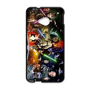 HTC One M7 Black Star Wars phone case cell phone cases&Gift Holiday&Christmas Gifts NVFL7N8823930
