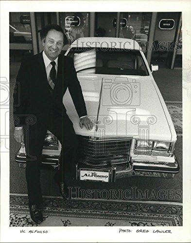 1985 Press Vic Alfonso change Lwe Williams Cadillac at Portland Lloyd - Portland Center Lloyd