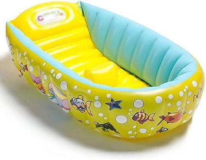 Amazon.com: Bañera inflable portátil para bebé, bañera de ...