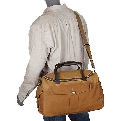 Amazon.com   Filson 70073 Original Sportsman Bag - Heritage - Orange-Tan    Messenger Bags e7f4a28ade