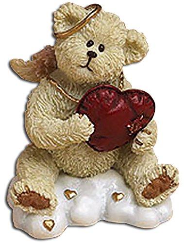 Angel Teddy Bear Holding Heart (Boyds Resin Figure)
