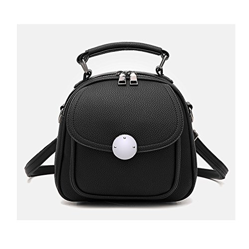 mochila mujer Mini mochila de teléfono cuero Pu mochila para las mujeres Mochilas tipo casual bolsa shopper Rojo Bolsos Mochila Negro Bolsos Mochila