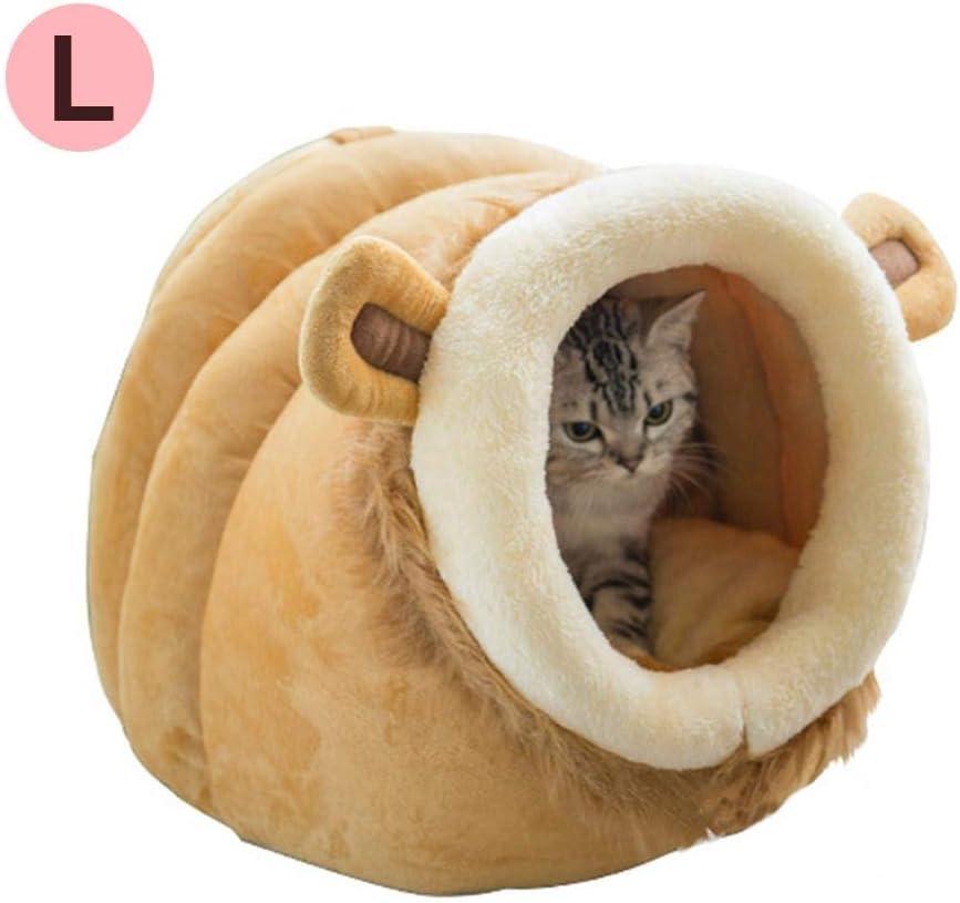 Funihut Cama Caliente para Perro Conejo Hamster, Cama de Gato para Animales de compañía y Perros pequeños, Belle Forma animalière, Luxe, Suave y cálido Pet House/Gato casa Cama/sofá/La Cueva para Cat