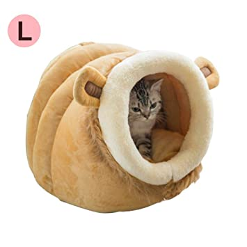 Rejoicing Caseta para Mascotas con diseño de Oso de Peluche y Jaula extraíble, Lavable, para Mascotas, Lion, Large: Amazon.es: Hogar