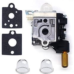 FitBest Carburetor RB-K75 with Gaskets Primer Bulb for ECHO SRM-210 SRM-210i SRM-210SB SRM-210U SRM-211 Trimmer / Brushcutter