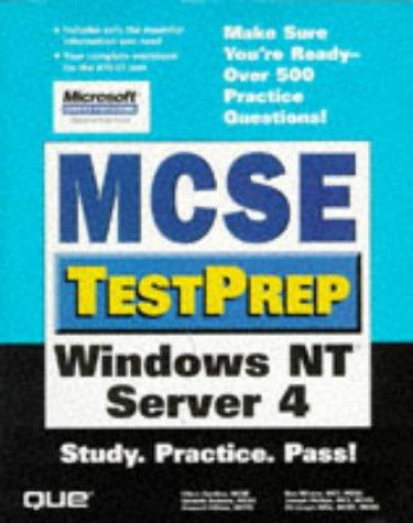 Windows NT Server 4 (MCP-Imprint New Riders)