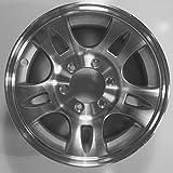 TWO (2) Aluminum Sendel Trailer Rims Wheels 6 Lug 16'' T03 Split-Spoke Style