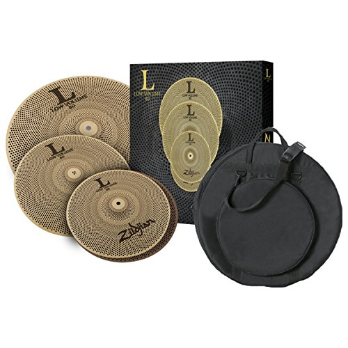 Zildjian LV348 LOW VOLUME L80 13/14/18 BOX SET with Gig Bag (Box Sets Zildjian)