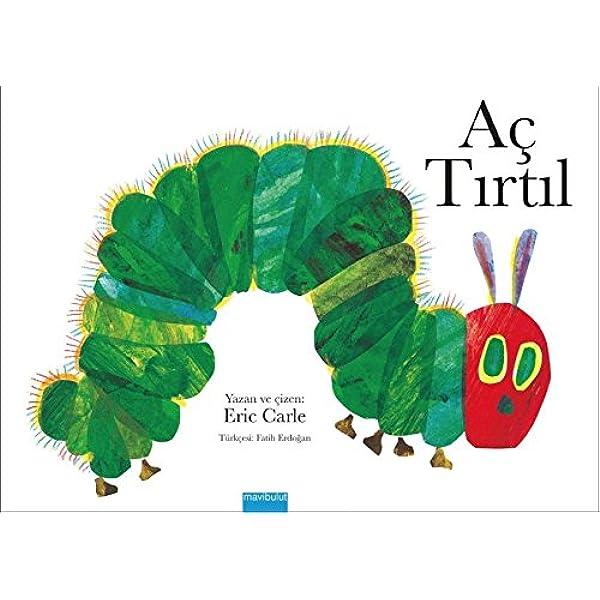 Ac Tirtil Boyama Kitabi Eric Carle Amazon Com Tr