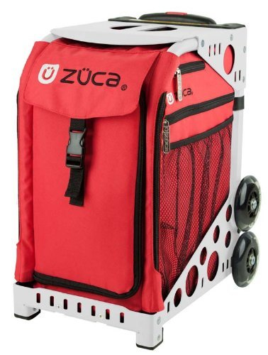 Zuca Bag Chili (White Frame) by ZUCA