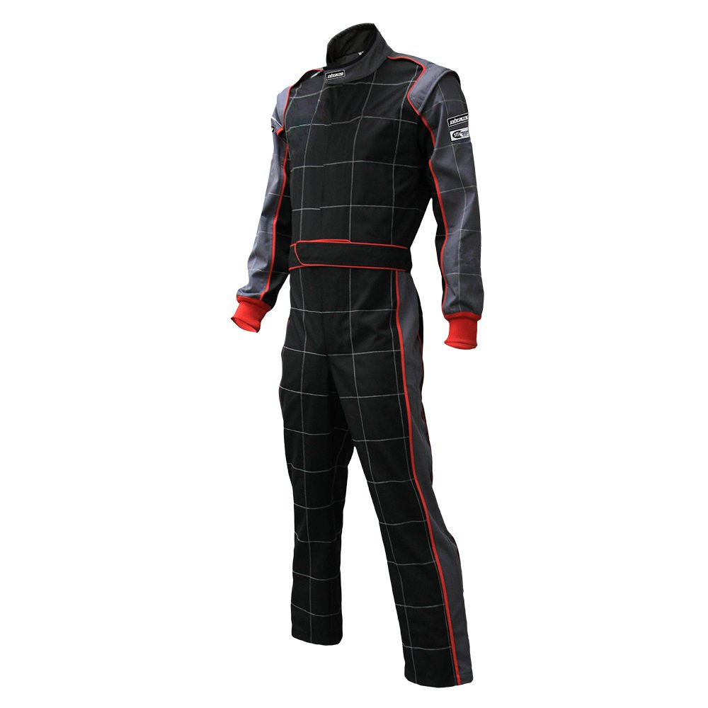 jxhracing RB-CR002 One-piece One Layer Auto Go Karts Racing Suit-X Large by jxhracing (Image #3)