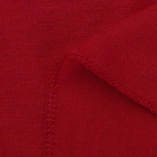 Manches Rond Chemisier Xmiral Longues Col Uni Red Body Chemise Femme YwfYxSq1P4