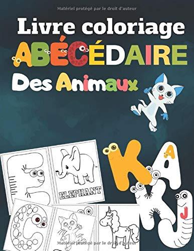 Livre Coloriage Abecedaire Des Animaux Colorier Des Lettres Et Des Animaux Pour Enfants 2 8 Ans Coloriage Alphabet Et Animaux French Edition Rabie Joseph 9781676050988 Amazon Com Books