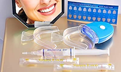 The Complete Professional 3D At Home Teeth Whitening Kit- See Results Fast!