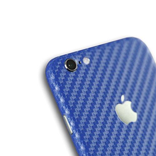 AppSkins Vorderseite iPhone 6 Carbon blue