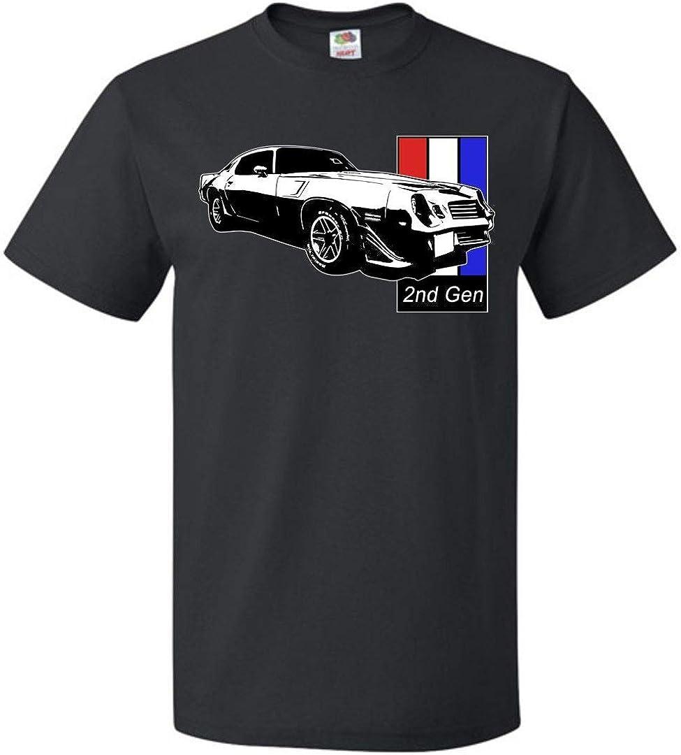 Aggressive Thread 2nd Gen Chevy Camaro T-Shirt