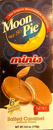 Moon Pie Minis - Salted Caramel (110 Calories) 6 Ct. by Moon Pie (Salted Caramel Moon Pie compare prices)