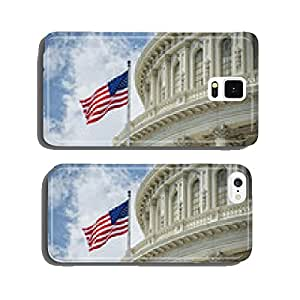 Washington DC Capitol detail on cloudy sky cell phone cover case iPhone6 Plus