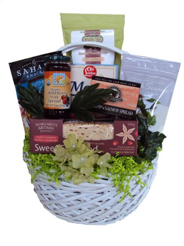 Mother's Day Sampler Healthy Gift Basket by Well Baskets