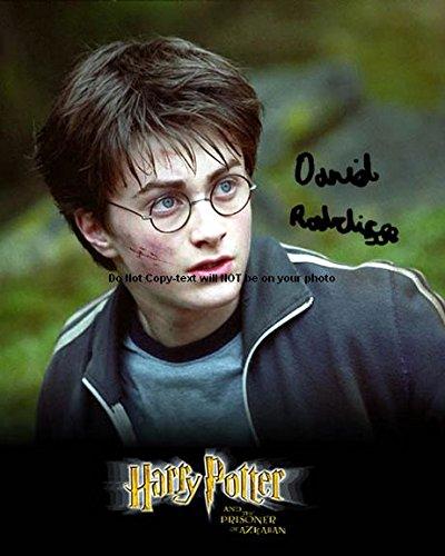 Harry Potter Daniel Radcliff Autographed Preprint Signed Photo Daniels Autographed Photo