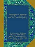 img - for Anthology of magazine verse for ... and year book of American poetry: 1918 book / textbook / text book