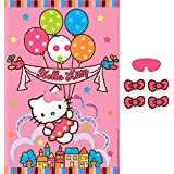 """Hello Kitty Witty Birthday Party Game Activity Pack (13 Pack), Multi Color, 37.5"""" n x 24.5""""."""