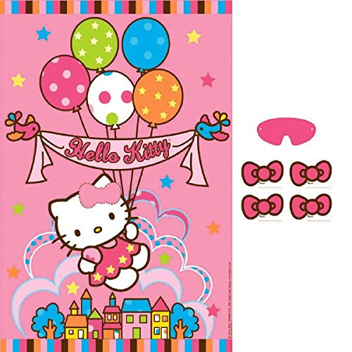 Hello Kitty Witty Birthday Party Game Activity Pack (13 Pack), Multi Color, 37.5
