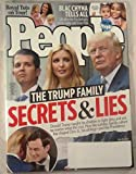 img - for People Magazine (July 31, 2017) The Trump Family: Secrets & Lies book / textbook / text book
