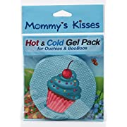 Spa Comforts Mommy's Kisses, Reusable Childrens Hot and Cold Pack, Cupcake