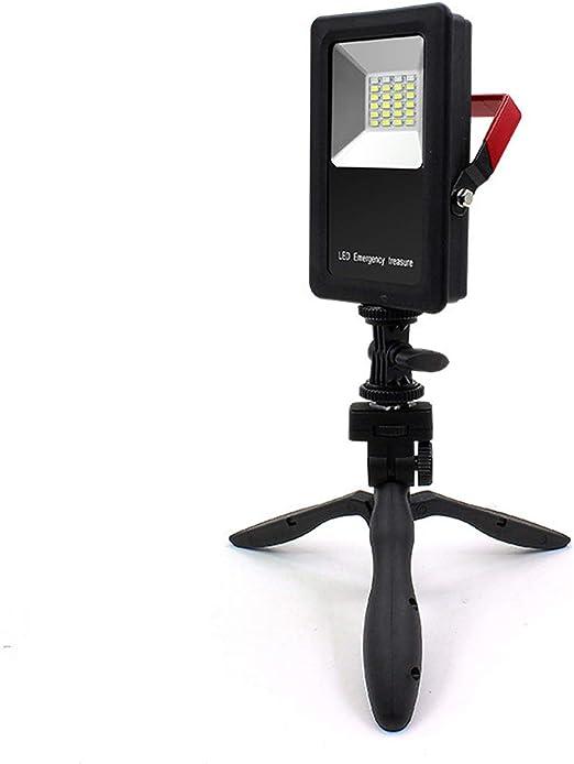 EFGS Foco Lámpara Proyector LED 30W, Luz Portátil para Trabajo de ...