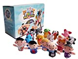 Toys : Sensei Play 'n' Learn Finger Family Puppets - People & Animals - 16 pcs - Finger Puppets Zoo Animals & Family Puppets For Kids, Babies, Toddlers & The Whole Family