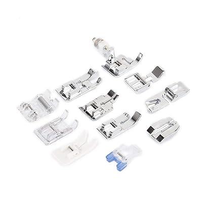 TrifyCore Un Conjunto de 11 Accesorios de pie prensatela para máquinas de Coser