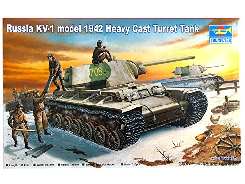 Trumpeter 1/35 00359 Russia KV-1 model 1942 Heavy Cast Turret (Cast Turret Tank)