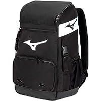Mizuno Organizer 21 Backpack   Baseball Softball   4 Bat Sleeves   Vented Shoe Pocket   J Fence Hook   Padded Shoulder…
