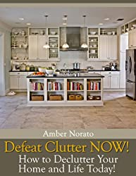 Defeat Clutter NOW! How to Declutter Your Home and Life Today! (English Edition)