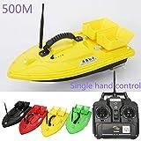 Generic UK Plug Wireless Fishing Bait RC Boats Double Motors 500m Remote Fish