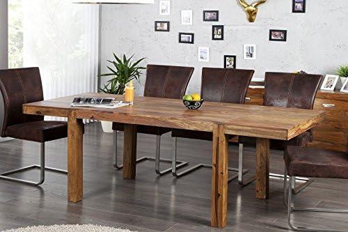 DuNord Design comedor Arona Palisandro Madera Maciza mesa ...