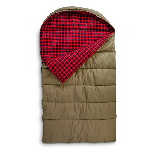 Guide Gear Canvas Hunter Double Sleeping Bag, 0°F by Guide Gear