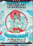 The Tibetan Art Coloring Book, J. Jamyang Singe, 0810929074